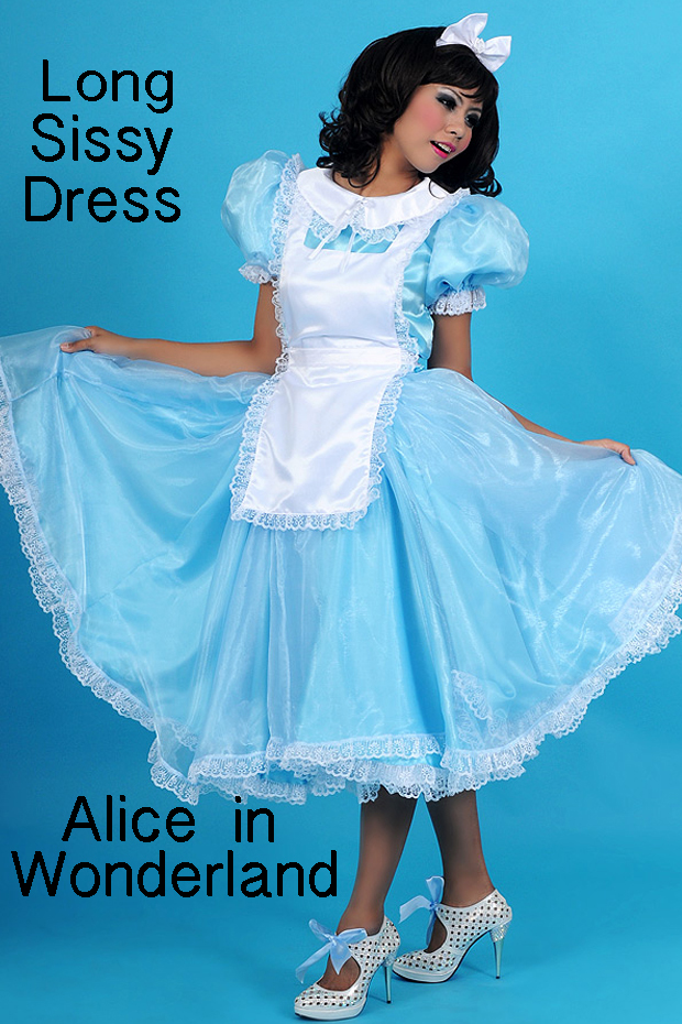 alice wonderland sissy dress