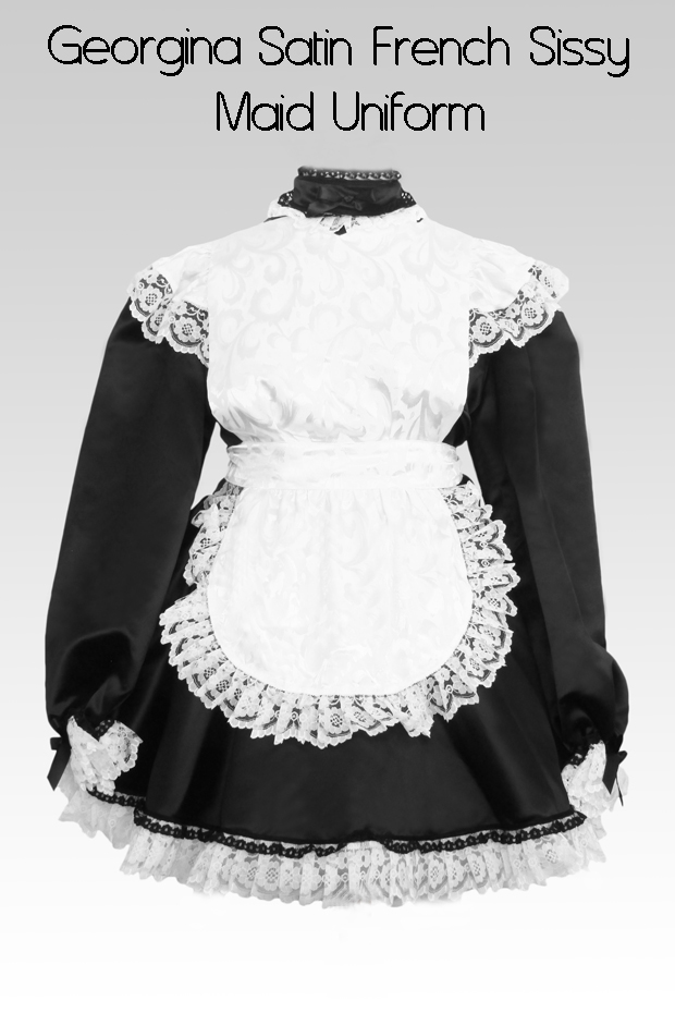 georgina satin french sissy maid uniform