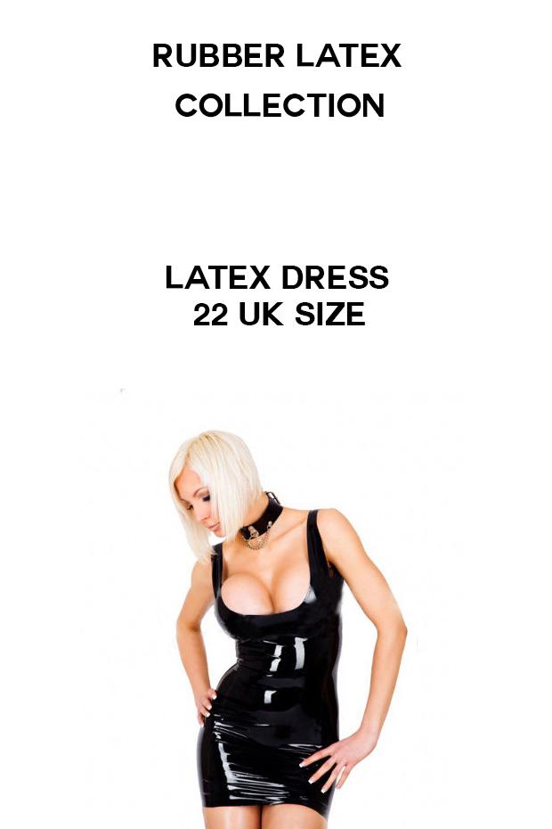 Sissy latex maid uniforme